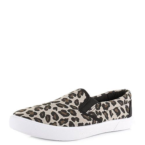 Shoestore - Mocasines para Mujer Leopardo: Amazon.es: Zapatos y complementos