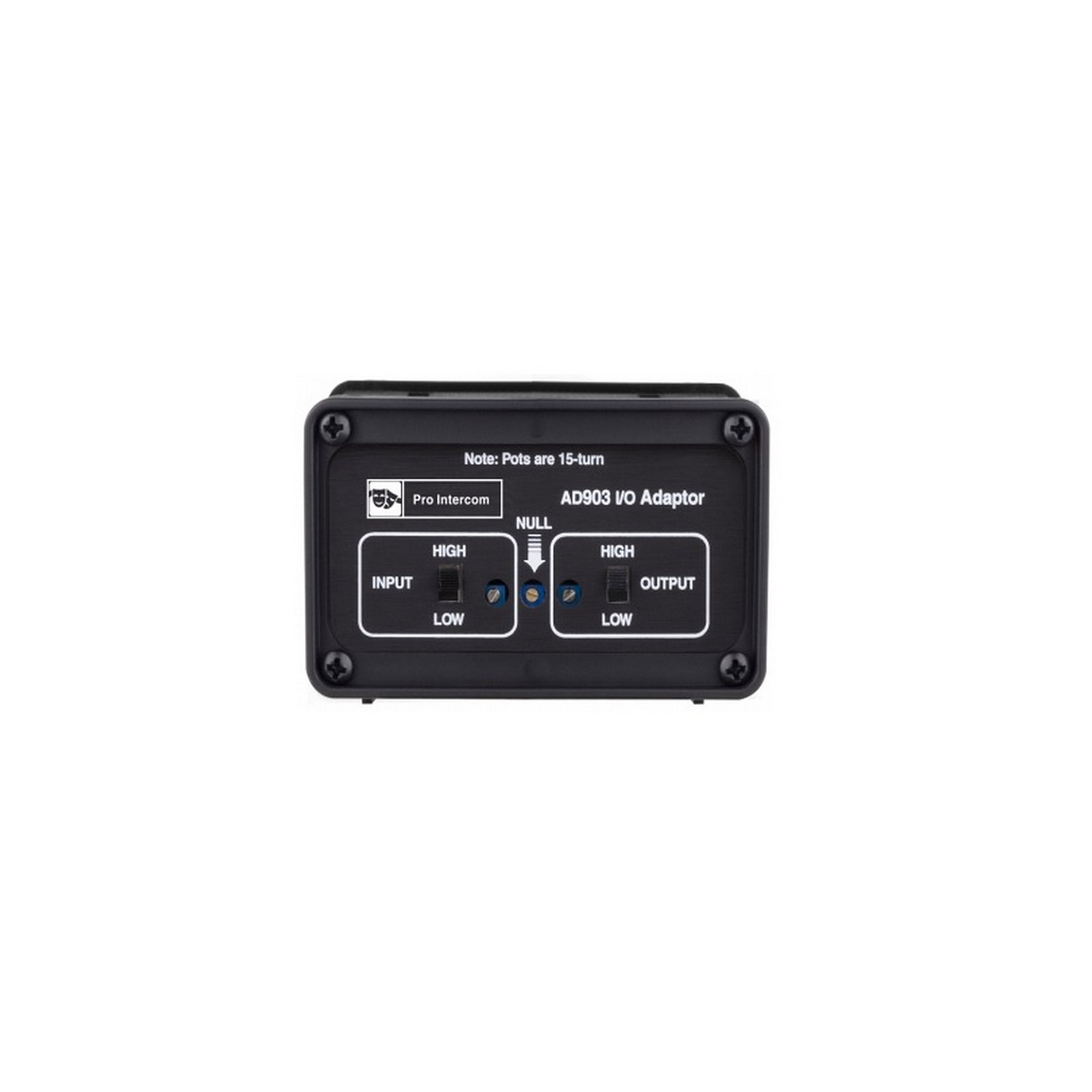 Pro Intercom AD903 | 2 to 4 Wire Active Transceiver Adapter by Pro Intercom