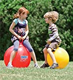 jeejex Hopping Bouncing Inflatable Hop Ball Toys for Children, Kids
