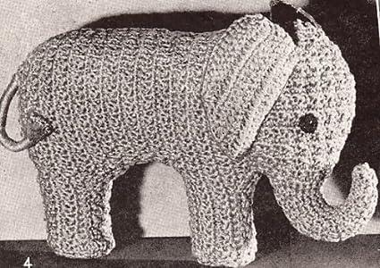 PATTERN: Ellis the Elephant - crochet elephant - amigurumi ... | 300x425