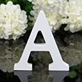 Amazon Price History for:Decorative Wood Letters,Totoo Hanging Wall 26 Letters Wooden Alphabet Wall Letter for Children Baby Name Girls Bedroom Wedding Brithday Party Home Decor-Letters (A)