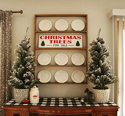 Fixer-Upper Christmas Trees For Sale Wood Sign / Rustic Chri