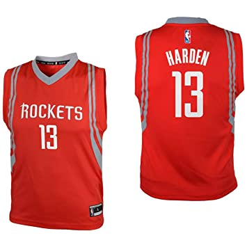 the latest 65a69 b51d6 Outerstuff Youth James Harden Houston Rockets Red Replica Basketball Jersey