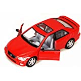 Lexus IS300, Red - Kinsmart 5046D - 1/36 scale Diecast Model Toy Car (Brand New, but NO BOX)