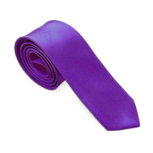 tumundo 1 Corbata para Las Camisas Vestido Lila Purpura: Amazon.es ...