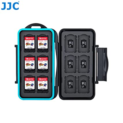 Amazon.com: JJC Black Memory Card Case for Nintendo Switch ...
