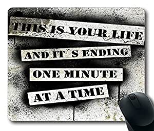 """This Is Your Life - Fight Club Mousepad gaming Mouse Pad Standard Size Mouse Pad Thick Mouse Pad in 220mm*180mm*3mm (9""""*7"""") -82503 by icecream design"""