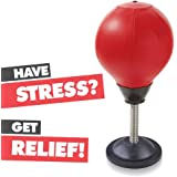 TOCC Stress Buster Desktop Punching Ball – Relieves Stresses & Good for Exercise
