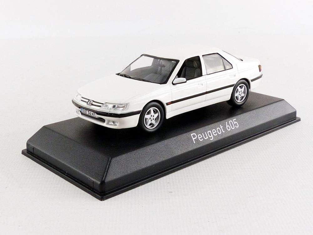 Norev Nv476503 1 43 1998 Peugeot 605 White Spielzeug