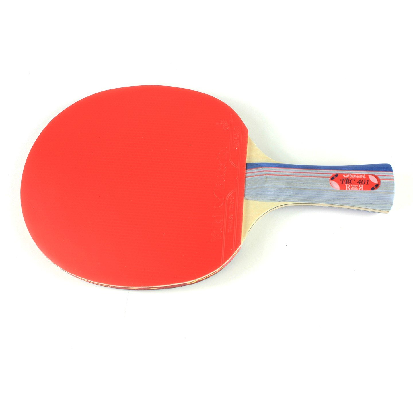 Butterfly 401 Table Tennis Racket Set – 1 Ping Pong Paddle 1 Ping Pong Paddle Case – ITTF Approved Table Tennis Paddle – Ships In Ping Pong Racket Gift Box