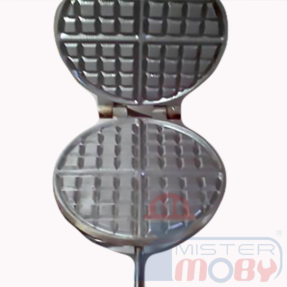 Mistermoby Traditional Italian Cookies Maker Machine Pizzelle Waffle Wafer Krumkake Model 6