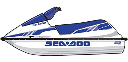 Amazon com: Exotic Signs Seadoo SP XP SPI SPX Graphic Kit