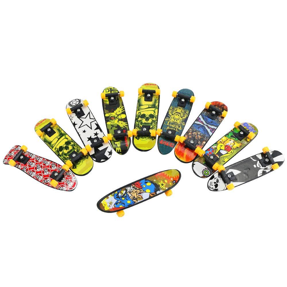 BeautyMood 24 pcs Professional Mini Finger Skateboard, Creative Fingertip Movement for Adults and Children (Random Mode). by BeautyMood (Image #5)