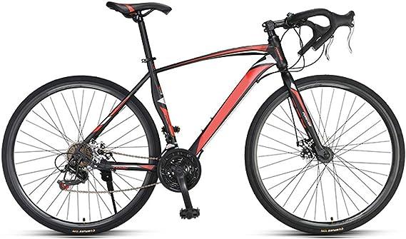 Bicicleta de carreras, cuadro de aluminio 700C, 21 marchas, cambio ...