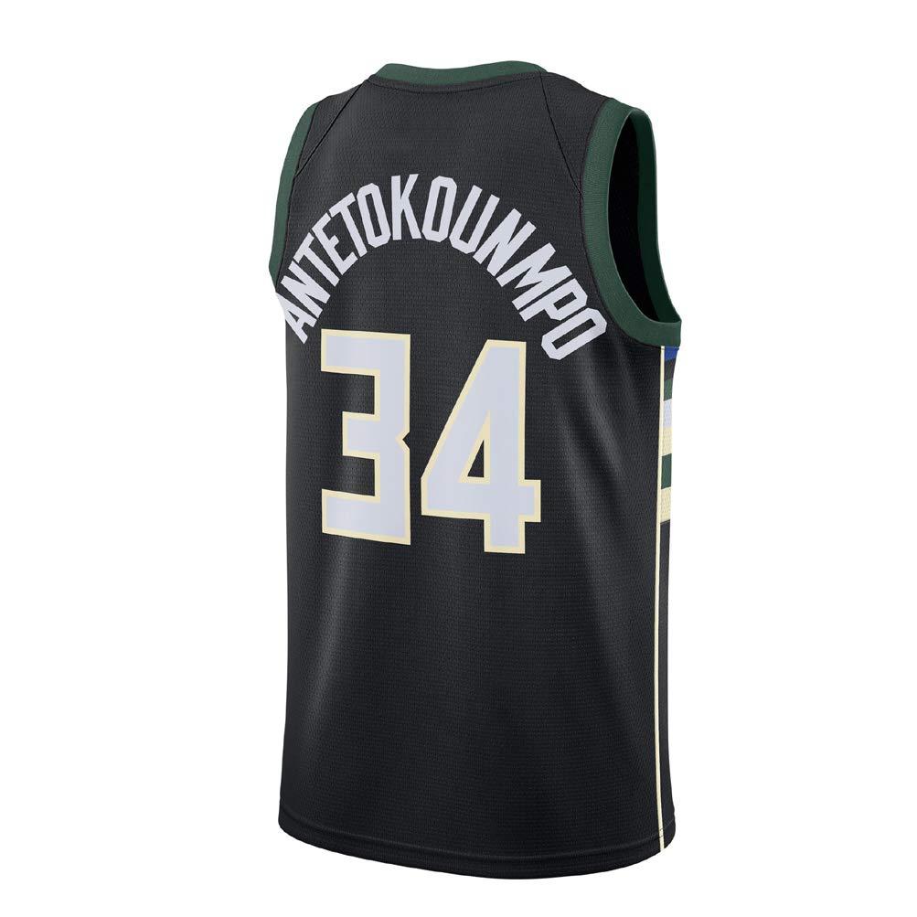 AJSPORT Camiseta de Antetokounmpo Equipo de Bucks Tipo SG Jersey para Hombre: Amazon.es: Deportes y aire libre