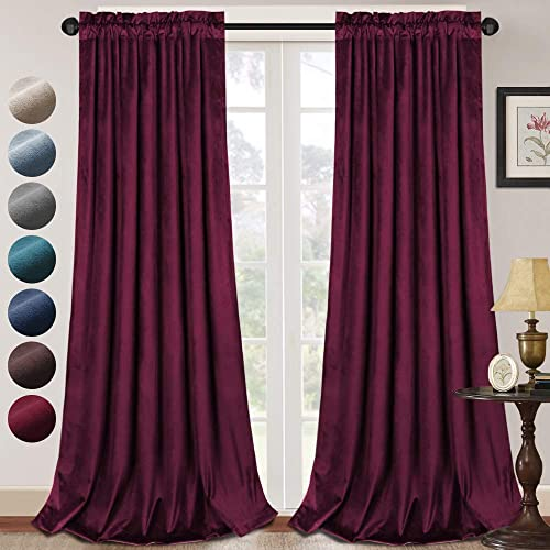Luxury Velvet Curtains Blackout