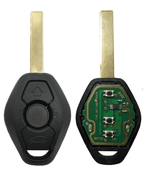 Amazon.com: Repuesto de llave de coche con mando a distancia ...