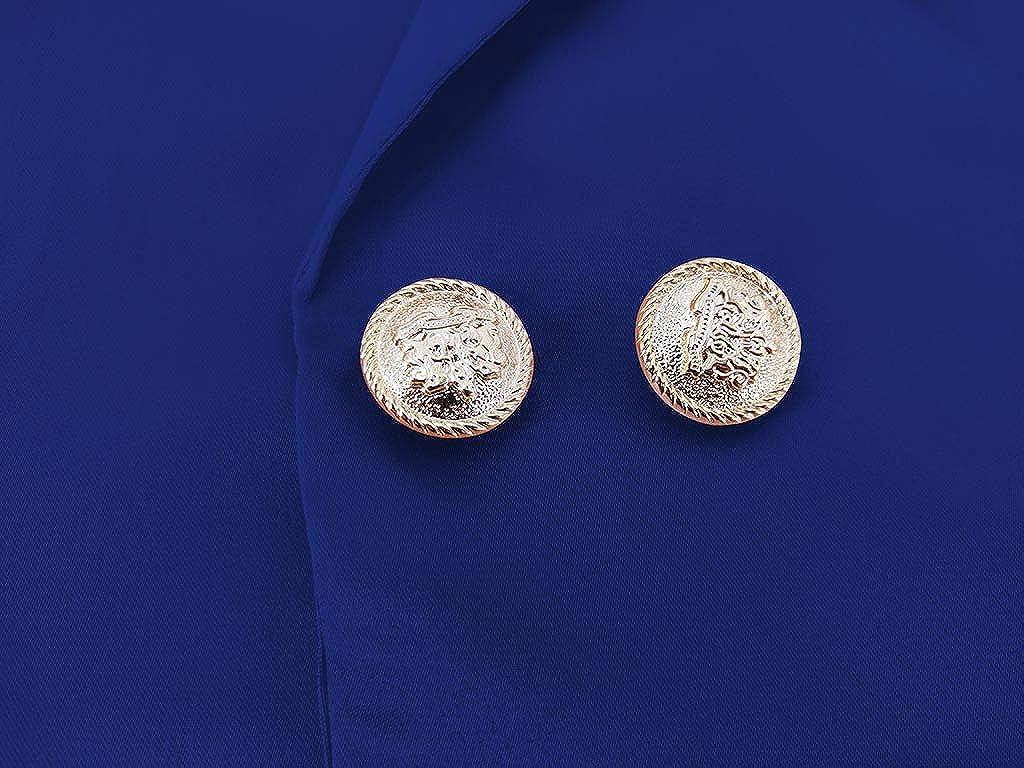 DeHolifer Damen Fr/üHjahr Und Sommer Anzug Jacke Langarm Strickjacke Mantel Mode Kleinen Anzug Professionelle Jacke Kleid S-2XL
