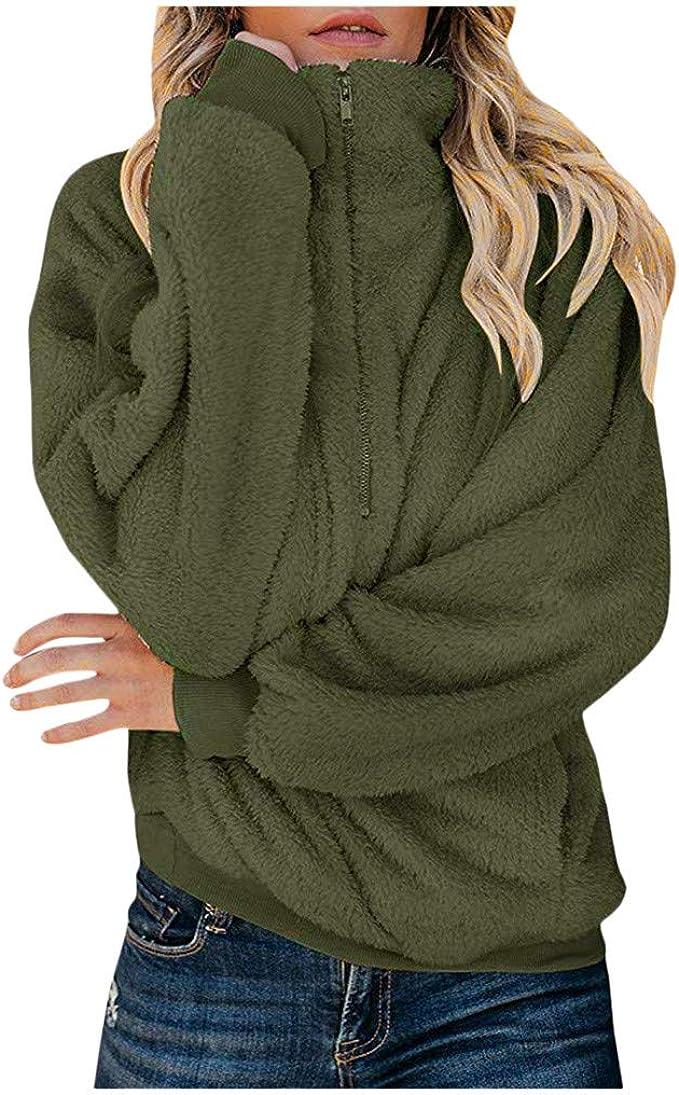 Damen Hoodies LoveLeiter Kapuzenpullover Langarm Sweatshirt