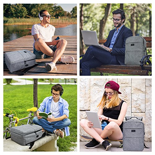 TOP 10 BEST LAPTOP BACKPACKS WITH USB CHARGING PORT REVIEWS 2018-2019 - Magazine cover