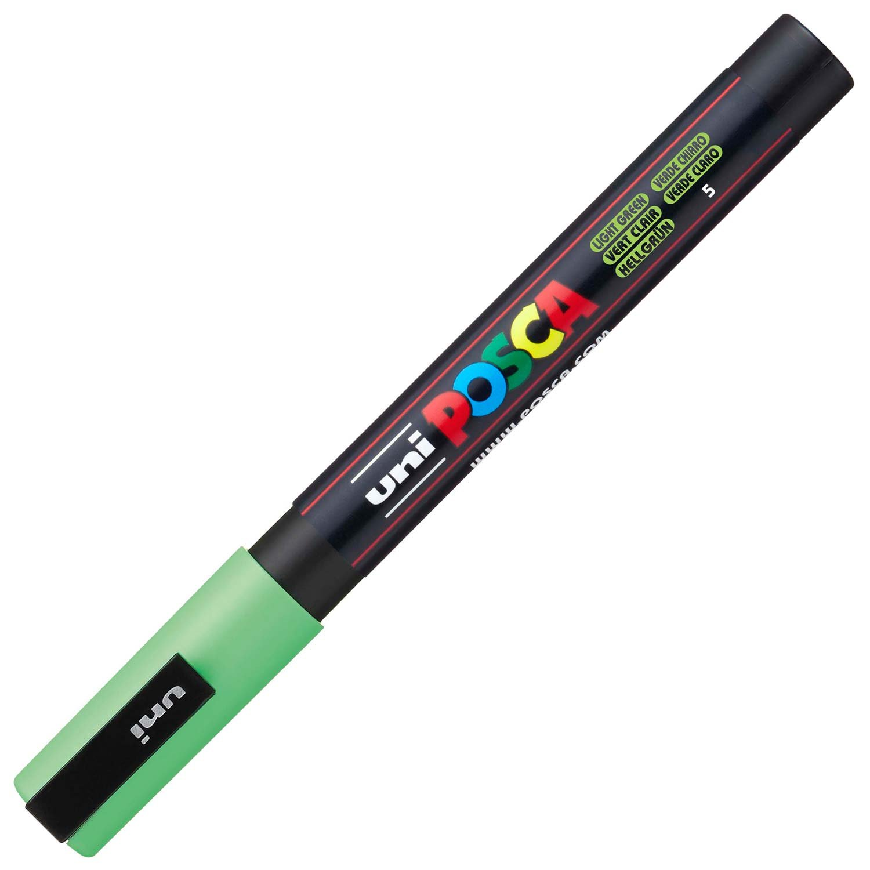 uniball Posca PC3M color verde manzana Rotulador