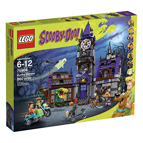 LEGO Scooby-Doo 75904 Mystery Mansion Building Kit]()