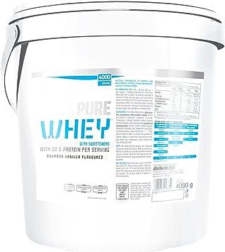 Biotech 100% Pure Whey Proteínas Avellana - 4000 gr