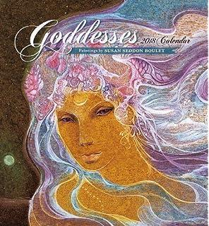 Susan Seddon Boulet Goddesses 2018 Wall Calendar