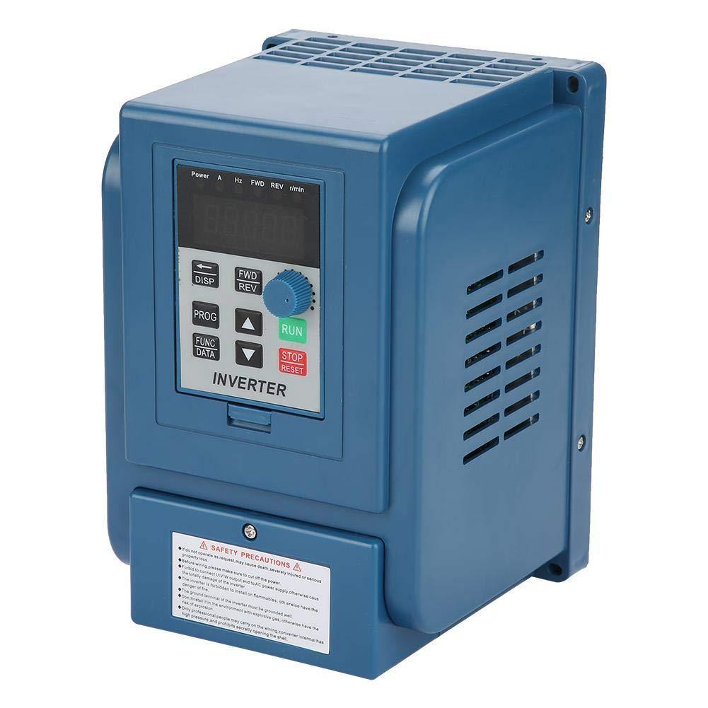 volflashy 周波数変換器 380V 4A 可変 頻度 コンバーター ドライブ VFD 速度 コントローラー 三相 1.5kW AC モーター 用 B07PF9LWMH