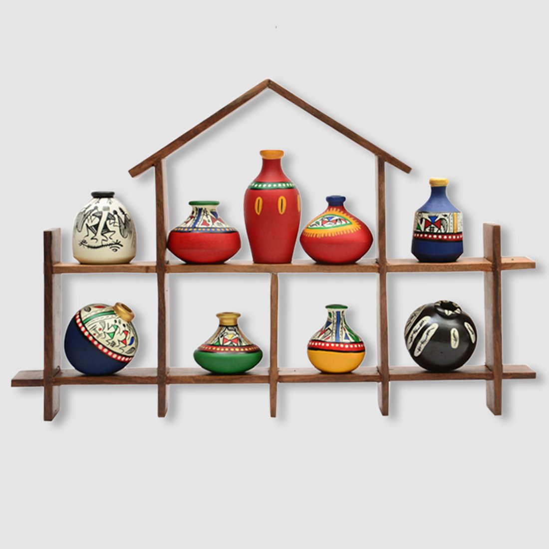 Terracotta decor pieces