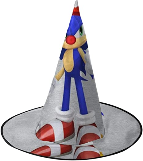 NUJSHF Sonic The Hedgehog Su-per Ma-Rio Sombrero de Bruja ...