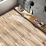 VANCORE Rustic Wood Grain Contact Paper Self-Adhesive Shlef Decal Floor Stickers 7.9 x 196 Inch