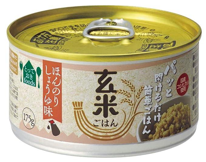 Toyo alimentos arroz integral (un poco de salsa de soja) piezas 175gX24