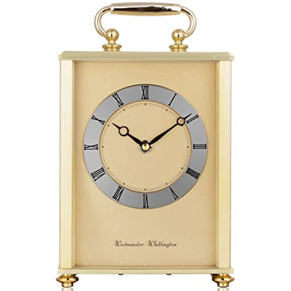 KHSKX Música metal reloj llamativo ambiente de salón de moda cuarzo oro reloj de mesa de