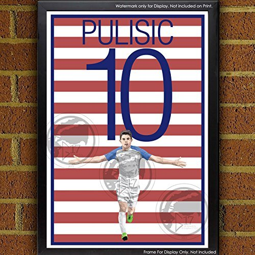 Christian Pulisic United States Men's National Team Poster