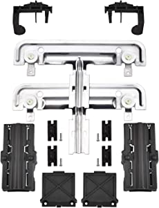 W10712395 Dishwasher Rack Adjuster Metal Kit By AMI,Compatible with Whirlpool, Kenmore and KitchenAid- Replace W10712395VP, W10350375, AP5957560, PS10065979,W10250159, W10350375