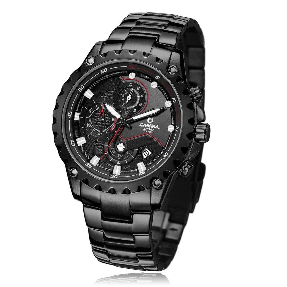 Amazon.com: CASIMA Mens 100M Waterproof Quartz Sport Wrist Watch (ST-8203-B7): Watches