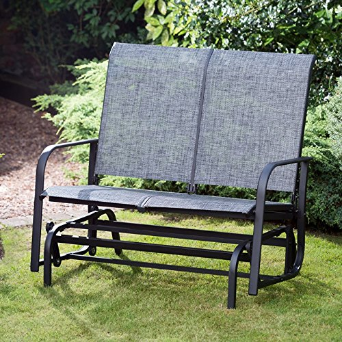 2 Seater Seville Glider Bench Seat Swing Patio Relaxing OutDoor