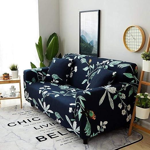 Y·z Fundas decorativas para sofás 1/2/3/4 asiento Funda de ...