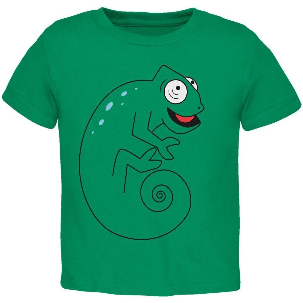 Chameleon Spiral Tail Toddler T Shirt