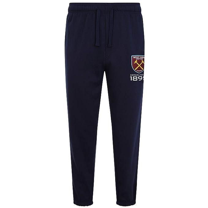 West Ham United FC - Pantalón de Fitness para Hombre - Forro Polar ...