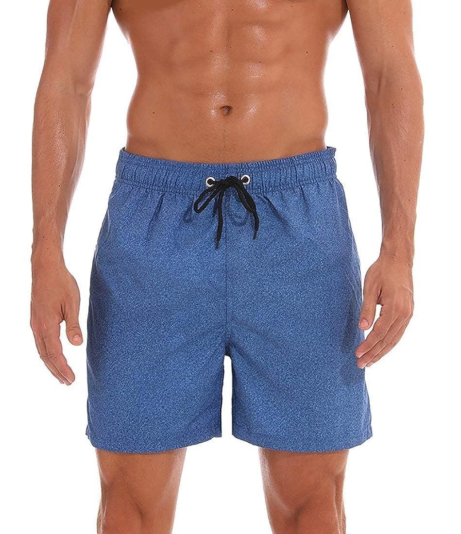M/&S/&W Mens Drawstring Print Fashion Surfing Swimming Board Beach Shorts