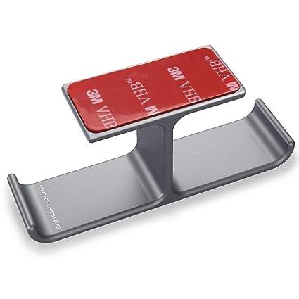 Amazoncom APPHOME Headset Holder with Aluminum Adhesive Under Desk