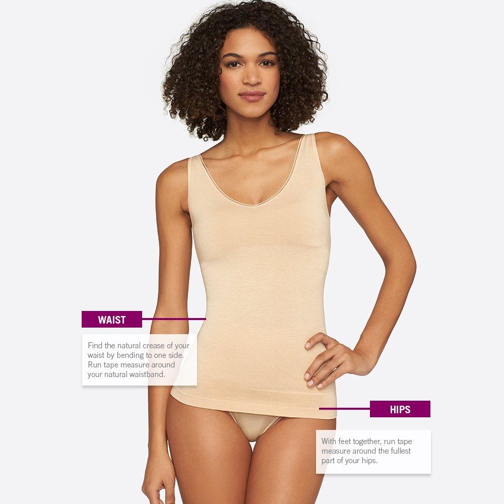 Yummie Womens Seamless Reversible Shapewear Tank Top