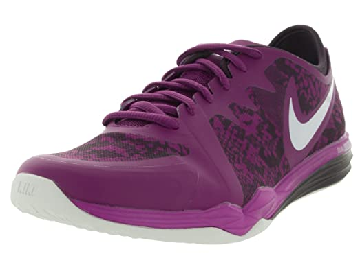 Nike Women's Dual Fusion Tr 3 Print Purple Dusk/White/Noble Purple Training  Shoe
