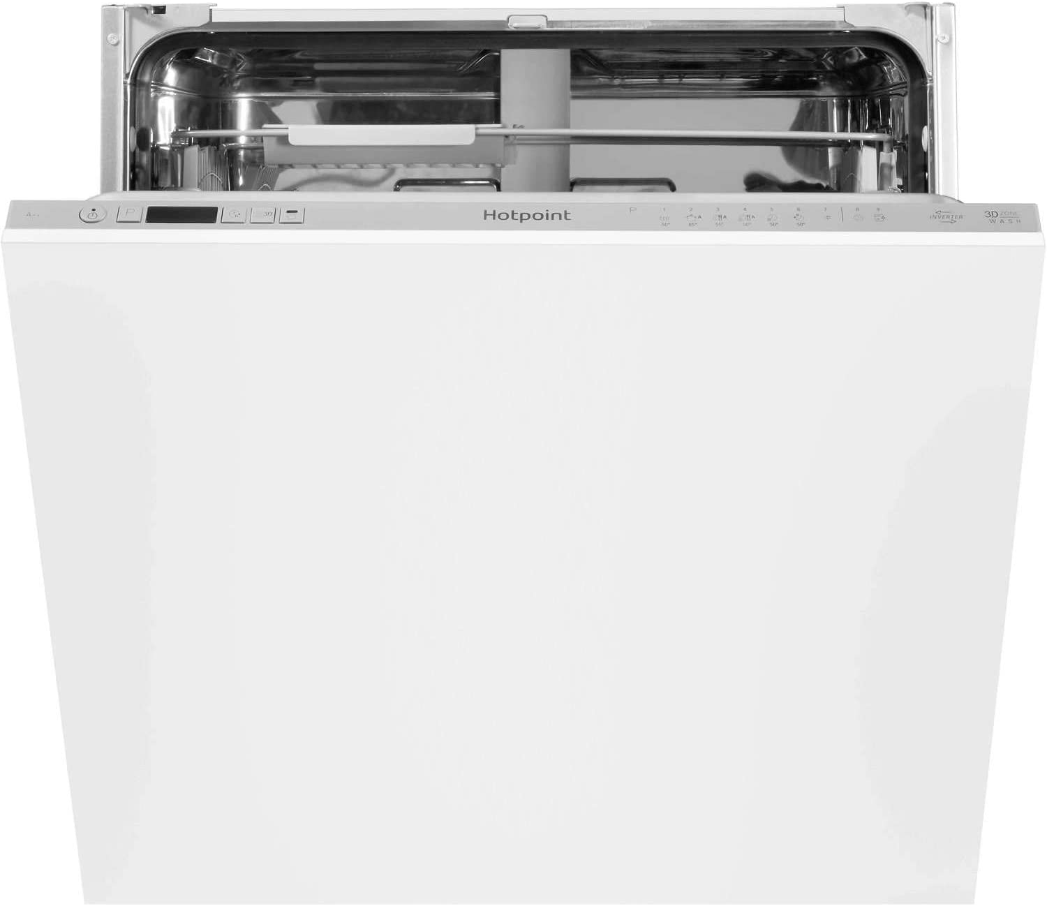 Hotpoint HEIC3C26C Built In Full Size Dishwasher 14 place A++ 9L 46dB 7 progs + EXPRESS WASH