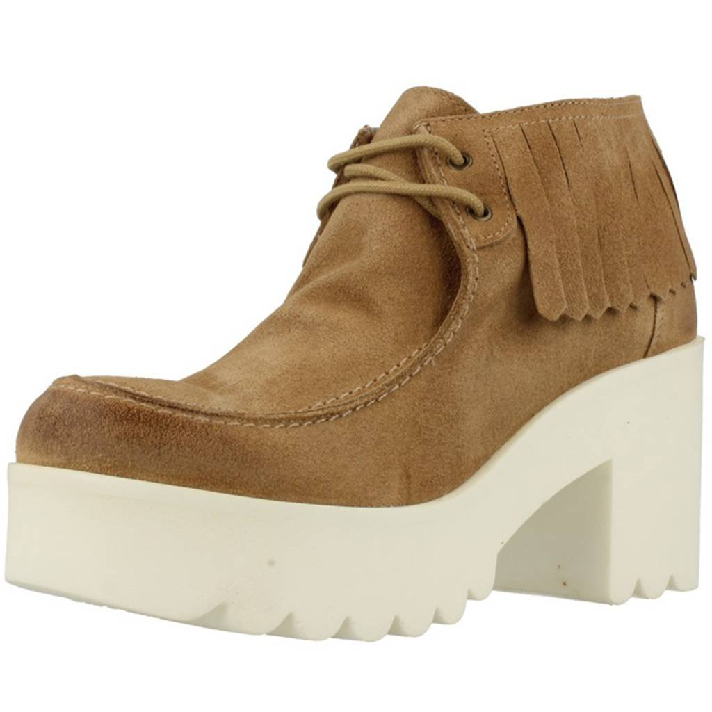 IS TO ME Stiefelleten Stiefel Damen, Farbe Hellbraun, Marke, Modell Stiefelleten Stiefel Damen SARA 5 Hellbraun