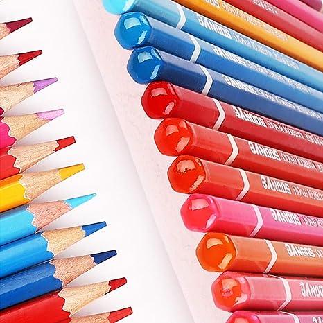 Amazon.com: Estuche de 5 lápices de colores de madera ...