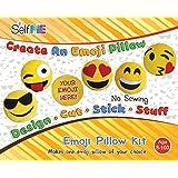 Amazon.com: ColorBok Sew Cute Felt Sewing Kit Emoji Brown ...