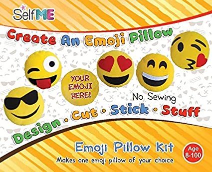 Amazon Com Dadm Emoji Pillow Craft Kit For Girls Boys Kids And